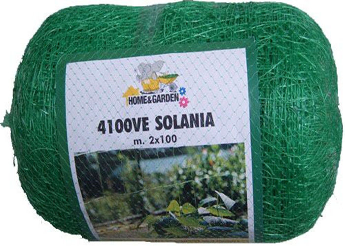 Garden Vegetable Protection Netting , PE / PP Knot Weave Garden Fruit Netting